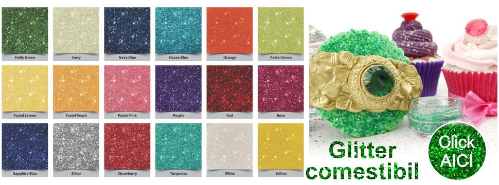 Glitter-comestibil