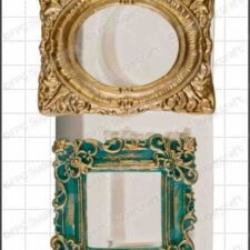picture frames (ornate)